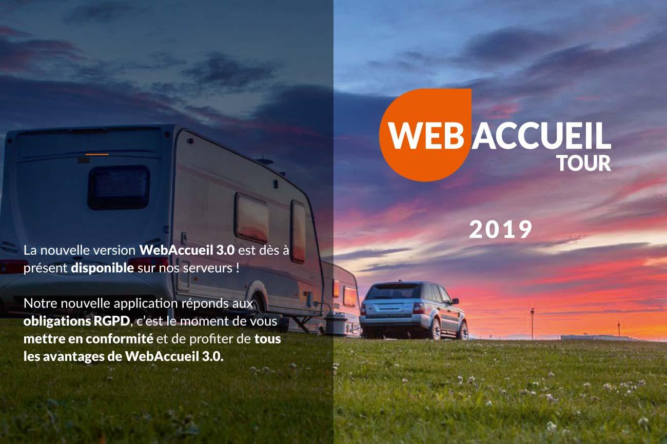 Tournée WebAccueil 3.0 par WA Concept Télégestion, prépaiement et sécurité des aires des gens du voyage