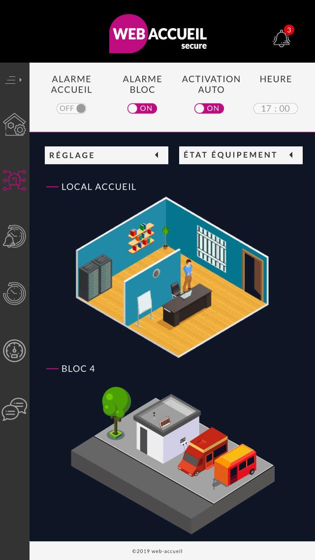 webaccueil secure WA Concept Télégestion, prépaiement et sécurité des aires des gens du voyage