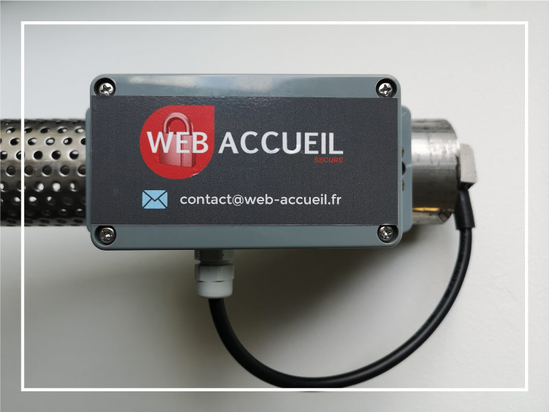 capteur Lora pour webaccueil city inondation par WA Concept : capteur connecté