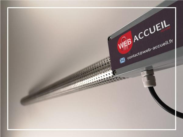 WA Concept Webaccueil inondation capteur connecté radio longue distance